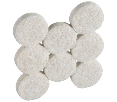 National Hardware N237-107 Felt Pads 7/8 Inch Round Neutral 16 Pack