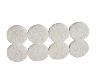 National Hardware N237-115 Felt Pads 1-1/4 Inch Round Neutral 16 Pack