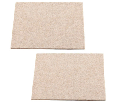 National Hardware N237-131 Felt Pads 3-1/2 By 4 Inch Neutral 2 Pack