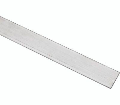 National Hardware N247-064 Flat Bar 1/8 Inch Thick 1 Inch By 48 Inch Mill Finish Aluminum