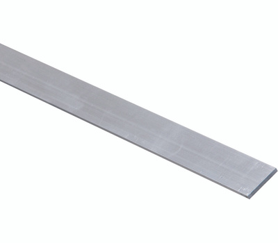 National Hardware N247-072 Flat Bar 1/8 Inch Thick 1 Inch By 72 Inch Mill Finish Aluminum