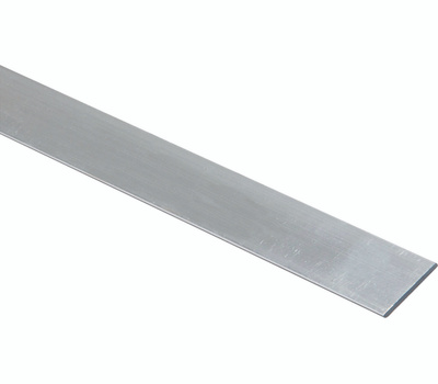 National Hardware N247-239 Flat Bar 1/4 Inch Thick 1 Inch By 48 Inch Mill Finish Aluminum