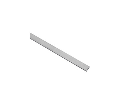 National Hardware N258-244 Flat Bar 1/4 Inch Thick 1 Inch By 96 Inch Mill Finish Aluminum
