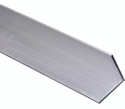 National Hardware N258-400 Solid Angle 1/8 Inch Thick 96 Inch By 2 Inch Mill Finish Aluminum