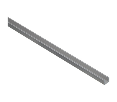 National Hardware N258-525 Channel 1/16 Inch Thick 96 Inch By 1/4 Inch Width Mill Finish Aluminum