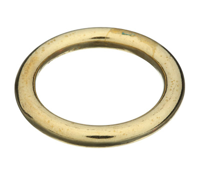 National Hardware N258-715 Solid Brass Ring 1-1/8 Inch Inside Diameter