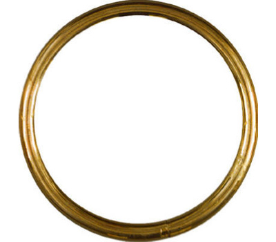 National Hardware N258-756 Solid Brass Ring 2 Inch Inside Diameter