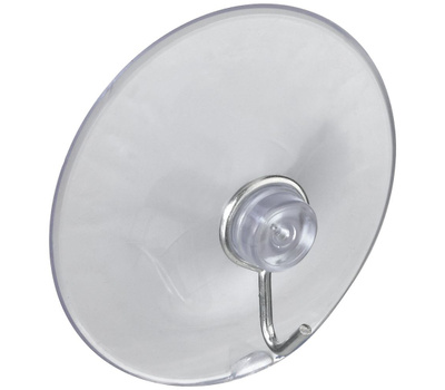 National Hardware N259-952 Suction Cup Hangers Medium Large Clear 3 Pack