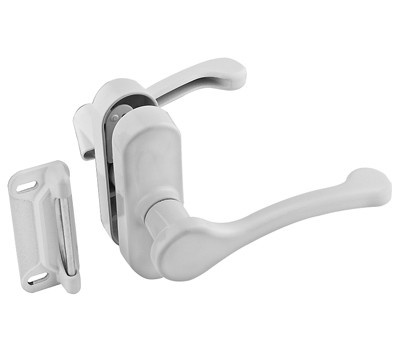 National Hardware N262-196 Door Lever Latch 1-3/4 Inch White
