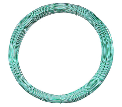 National Hardware N264-820 Craft And Project Wire 24 Gauge By 100 Feet Green Steel