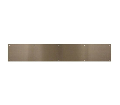 National Hardware N325-415 Kick Plate 6 By 30 Inch Pewter Anodized Aluminum