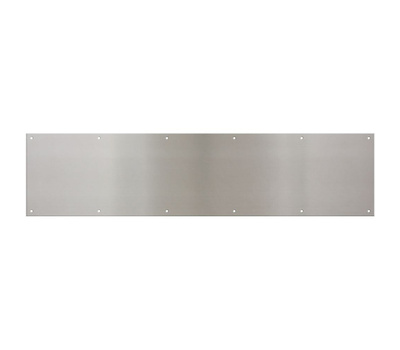 National Hardware N325-431 Home Designs Kick Plate 8 By 34 Inch Satin Nickel Anodized Aluminum