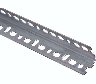National Hardware N341-164 Slotted Angle 0.047 Thick 1-1/4 By 96 Inch Galvanized Steel