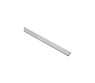 National Hardware N341-552 Flat Bar 1/8 Inch Thick 1/2 Inch By 96 Inch Mill Finish Aluminum