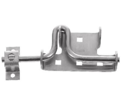 National Hardware N342-659 Sliding Bolt Door And Gate Latch Stainless Steel