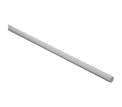 National Hardware N346-767 Round Solid Rod 48 Inch 3/8 Inch Diameter Mill Finish Aluminum