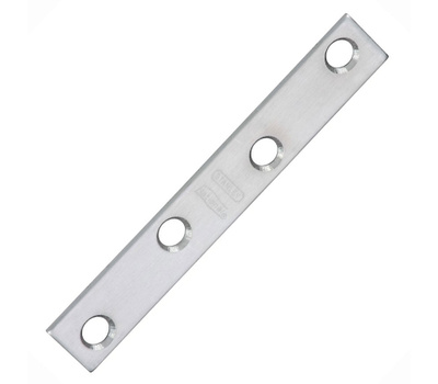 National Hardware N348-375 Stainless Steel Mending Brace 4 By 5/8 Inch 2 Pack