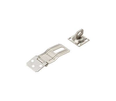 National Hardware N348-847 Swivel Staple Safety Hasp 3-1/4 Inch Stainless Steel