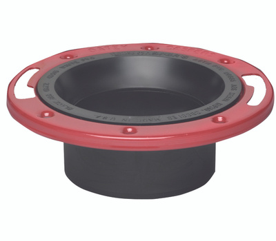 Oatey 43520 Closet Flange 4 Inch ABS With Metal Ring