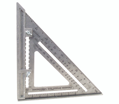 Swanson Tool S0107 Big 12 12 By 12 Inch Framing Square