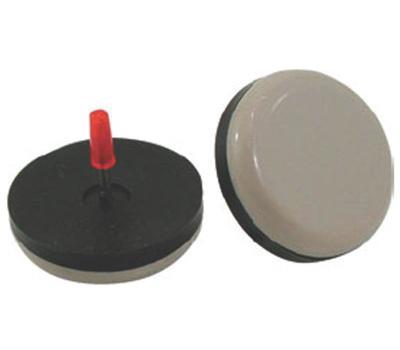 Shepherd Hardware 9469 Slide Glides 7/8 Inch Round Nail On Pads 8 Pack