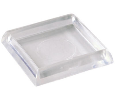 Shepherd Hardware 19089 1 7/8 Inch Square Furniture Cups 4 Pack