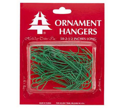 Holiday Trims 3929000 50CT GRN Ornament Hook