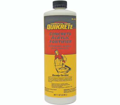 Quikrete 861014 Admix Cncrt Acry Fortifier Qt