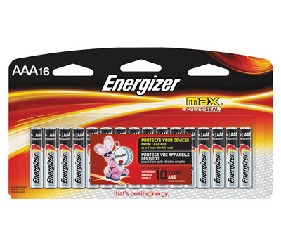 """Energizer E92LP-16 Max 16 Pack""""Aaa"""" Battery"""