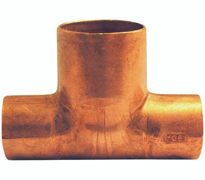 Elkhart 32704 1/2 By 1/2 By 3/4 Copper Tee