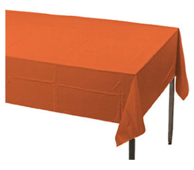 Creative Converting 01192 54X108 ORG Table Cover