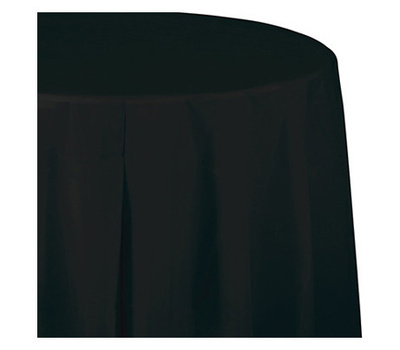 Creative Converting 710126 54x108 Blk Table Cover 039938150747 2
