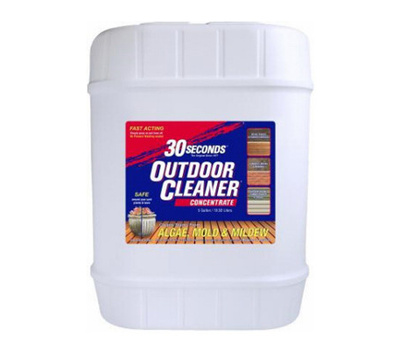 30 Seconds 5G30S Biodegradable Concentrated Outdoor Cleaner 5 Gallon