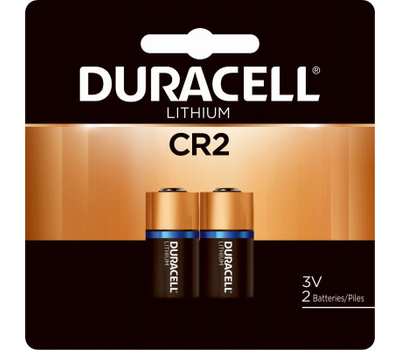Duracell DLCR2B2PK Battery Ultra Li Photo Cr2 2Pk