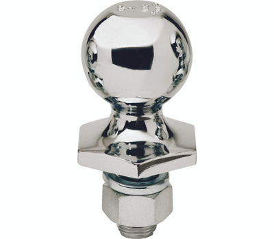 Reese Towpower 7008500 2 Inch Chrome Steel Interlock Hitch Ball