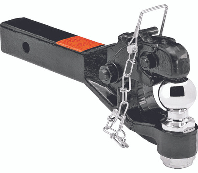 Reese Towpower 7024200 Pintle With 2 5/16 Inch Ball Receiver Mount