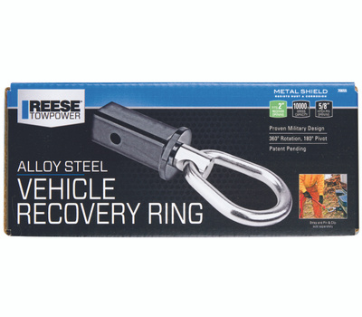 Reese Towpower 70655 Ring Rcovr Htch Stl 10000C 2In