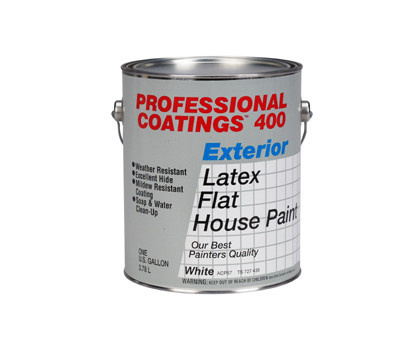 General Paint Acp57 Gl Professional Coatings Gallon White Flat Case Of 2