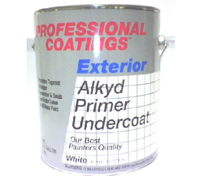 General Paint Acp64 Gl Professional Coatings Gallon White Alkyd Primer Case Of 2