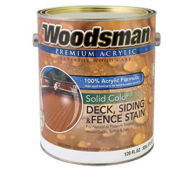General Paint ADS27-GL Woodsman Gallon Brown Acrylic Stain