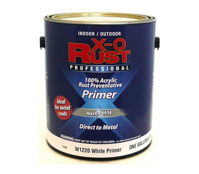General Paint W1220 Gl Xo Rust Gallon White Water Based Primer Case Of 2