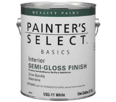 General Paint Vsg11 Gl Painters Select Gallon White Semi Case Of 4