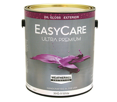 General Paint Xhg9 Gl Weatherall Gallon White Gloss Case Of 2