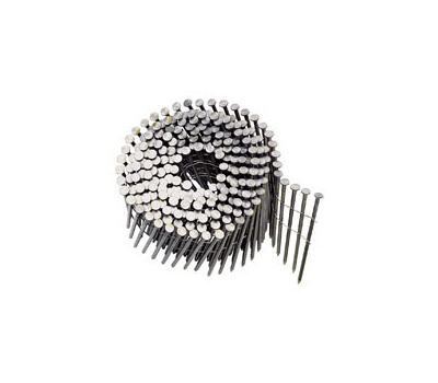 National Nail 0616653 Pro Fit Wire Coil Framing Nails 2-3/8 Inch By 0.113 Smooth Shank 15 Degree 3000 Pack