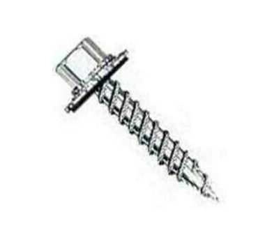 National Nail 0278058 Pro Fit Post Frame Screws 1 Inch #9 Galvanized Self Pierce Pound