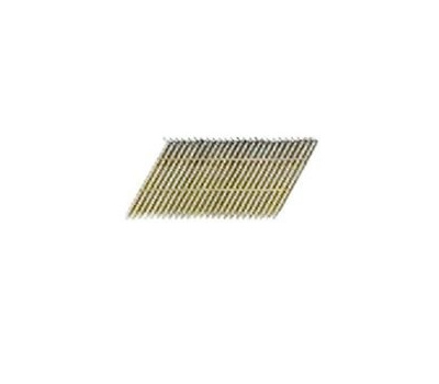 National Nail 0634130 Pro Fit 2 Inch 0.113 Hot Dipped Galvanized Ring Shank 28 Degree Wire Strip Collated Framing Nails
