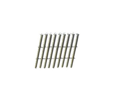 National Nail 0634151 Pro Fit 2-3/8 Inch 0.113 Hot Dipped Galvanized Ring Shank 15 Degree Wire Coil Collated Framing Nails