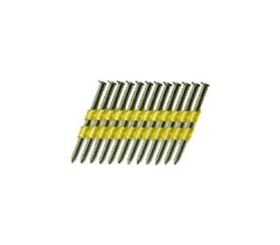 National Nail 0710151 Pro Fit 2-3/8 Inch By 0.113 Bright 22 Degree Plastic Collated Ring Shank Framing Nails (Pack Of 2000)