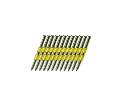National Nail 0705882 Pro Fit 3-1/4 Inch By. 131 Hot Dipped Galvanized Smooth Shank Plastic Collated Framing Nails (Pack Of 2000)