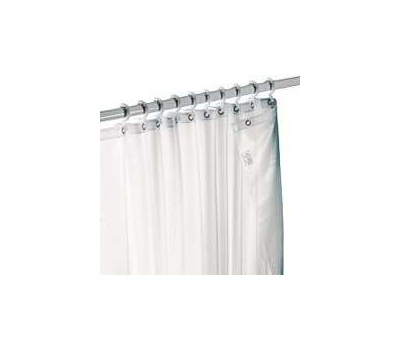Zenith H20WW Zenith Bathstyles Curtain Shwr 70x72in Wht